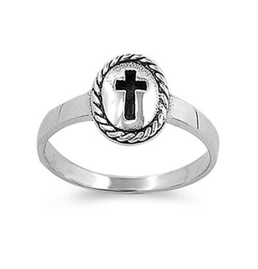 My Faith Ring 925 Sterling Silver - Be Living