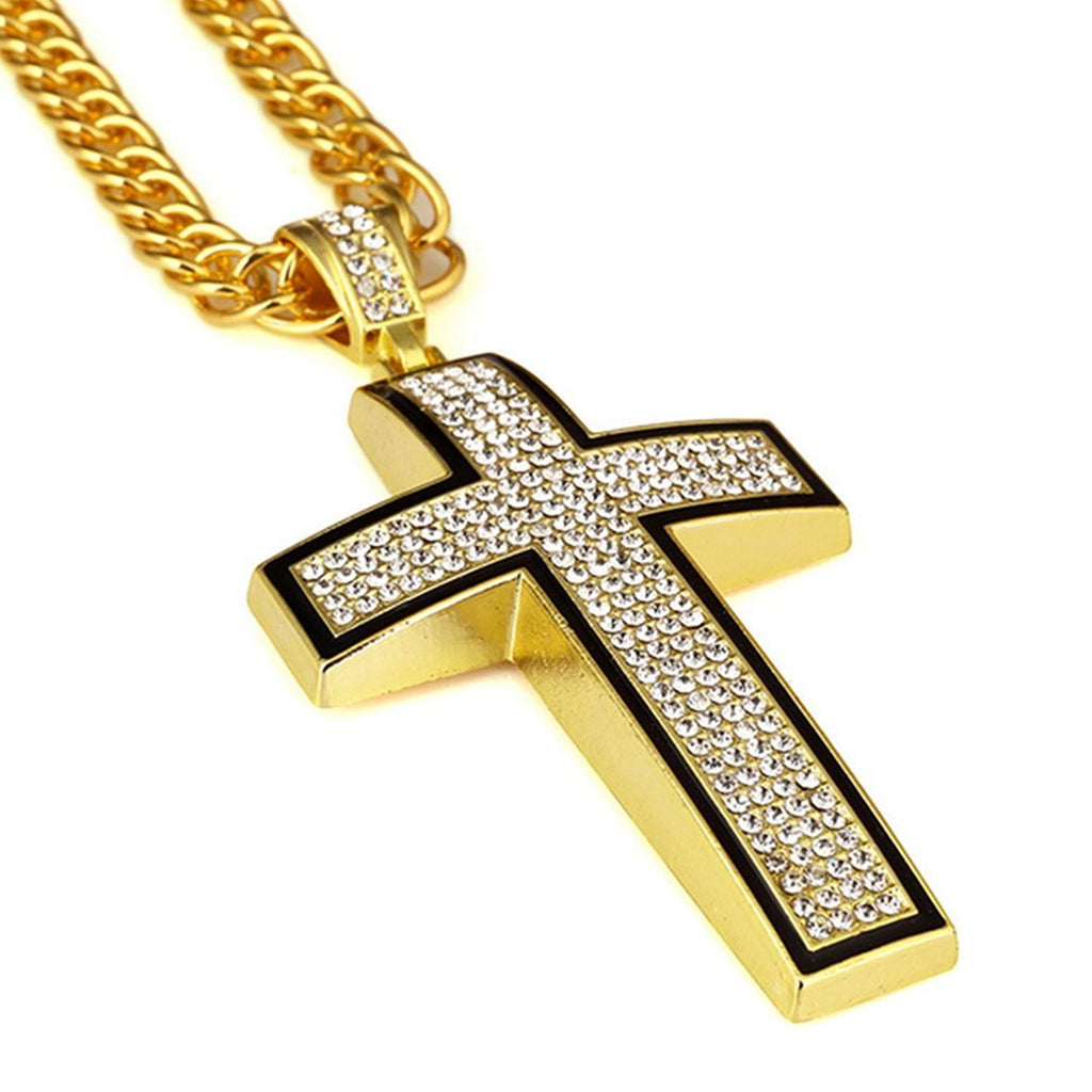 Exquisite Iced Cross Necklace - Be Living