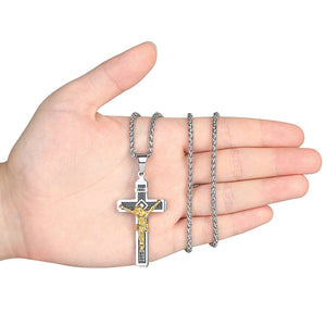 INRI Crucifix Necklace - Be Living