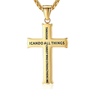 Philippians 4:13 Necklace - Be Living