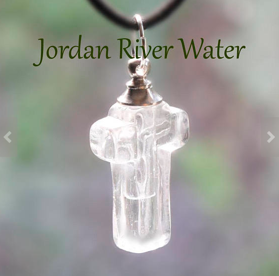 Holy Water Necklace From The Jordan River - Be Living