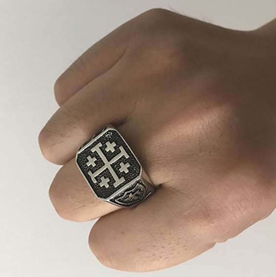 Jerusalem Cross Ring - Be Living