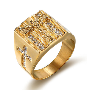Exquisite Jesus Ring - Be Living
