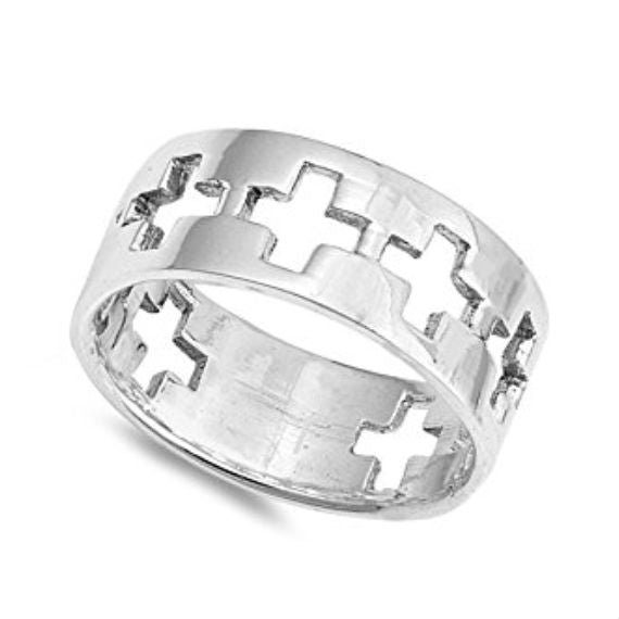 My Faith Band Ring 925 Sterling Silver - Be Living