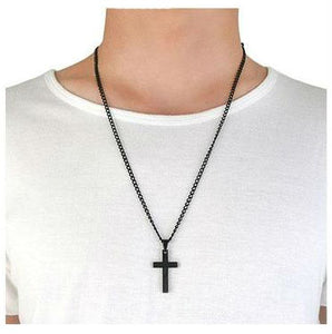 Black Cross Necklaces - Be Living