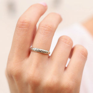 Heart of Faith Ring 925 Sterling Silver - Be Living