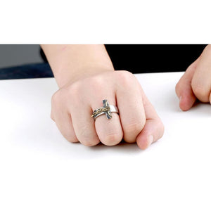 Jesus Crucifix Ring - Be Living