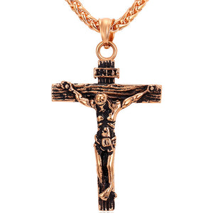 Jesus Christ Crucifix Necklace