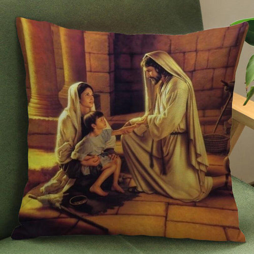 Jesus Christ Pillow Covers - Be Living