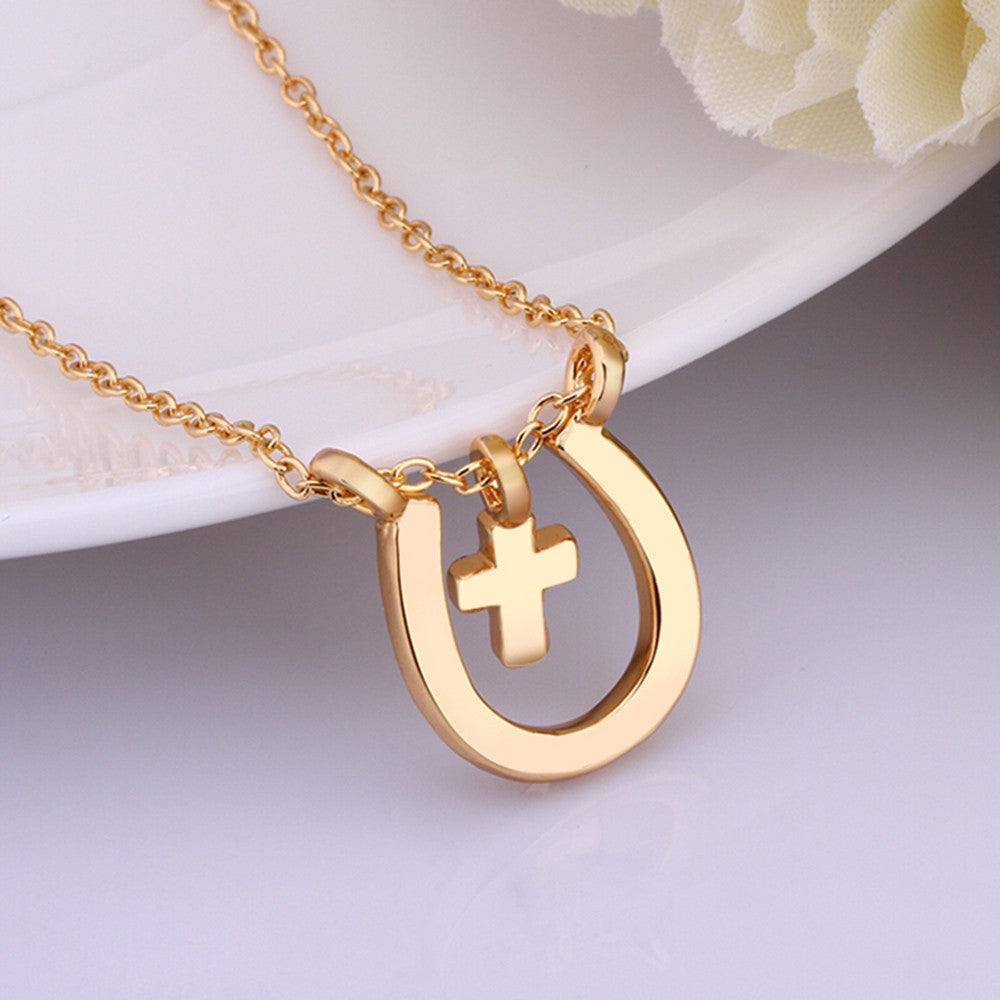 Christian Horse Lover Good Luck Necklace