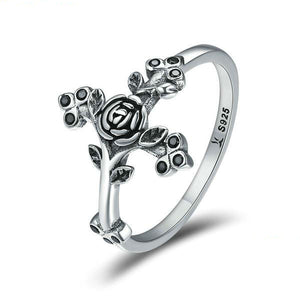 Rose Cross Ring - Be Living