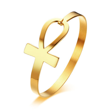 Ankh Cross Hook Bracelet - Be Living