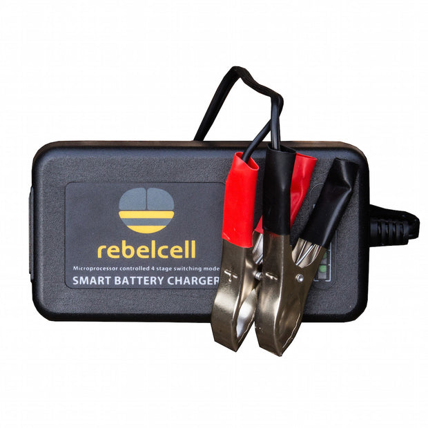 Rebelcell 12.6V4A Li-ion Laddare
