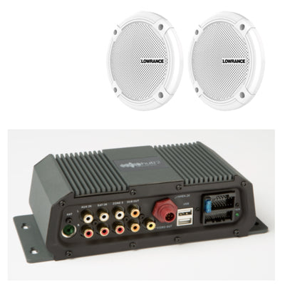 Lowrance SONICHUB 2 + Speakers