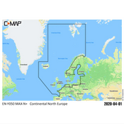C-MAP Continental Y050 (Baltic Sea)