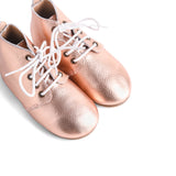FRANKIE BOOT ROSE GOLD - HARD SOLE