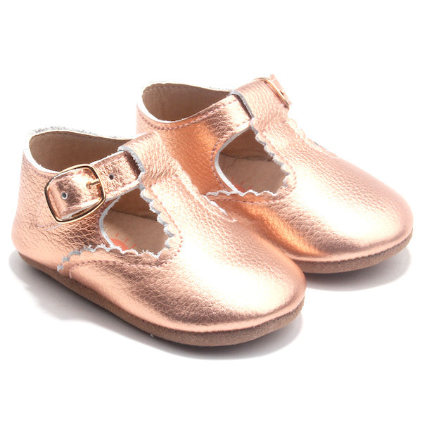 FLORENCE T-BAR ROSE GOLD