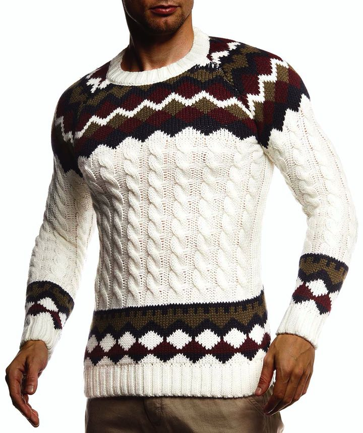 Norweger Strickpullover Baltur
