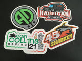 Printed Pit Lane Decals (Mass Production Runs) - Your Custom Artwork
