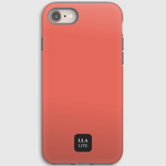 Probe Orange Plain iPhone Cover