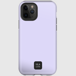 Moon Purple Plain iPhone Cover