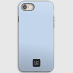 Baby Blue Plain iPhone Cover