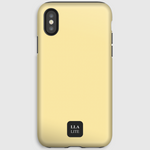 Giotto Yellow Plain iPhone Cover