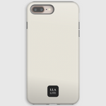 Dawn Beige Plain iPhone Cover