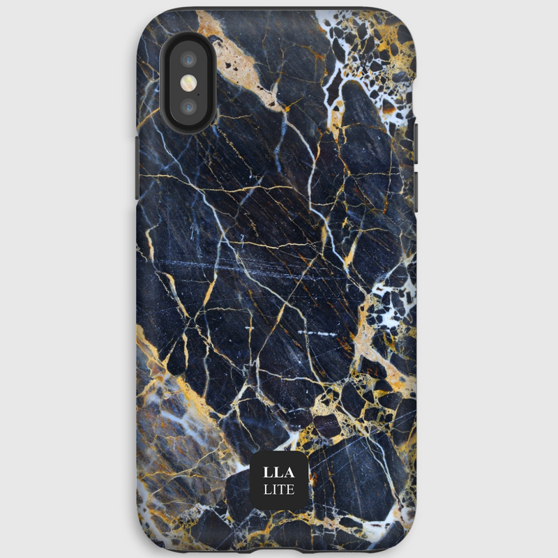 Minimum Blue Marble iPhone Cover