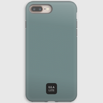 Icon Green Plain iPhone Cover