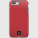 Bumbag Red Plain iPhone Cover