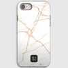 Oxford White Marble iPhone Cover