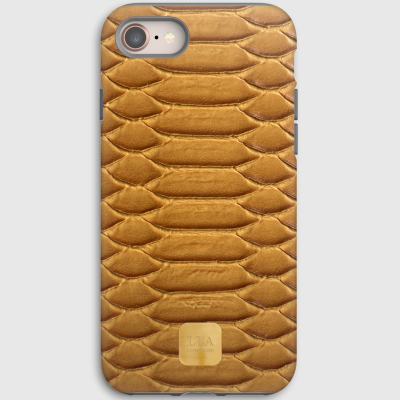 Napoli Yellow Python iPhone Cover