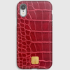 Nucleolus Red Croc iPhone Cover