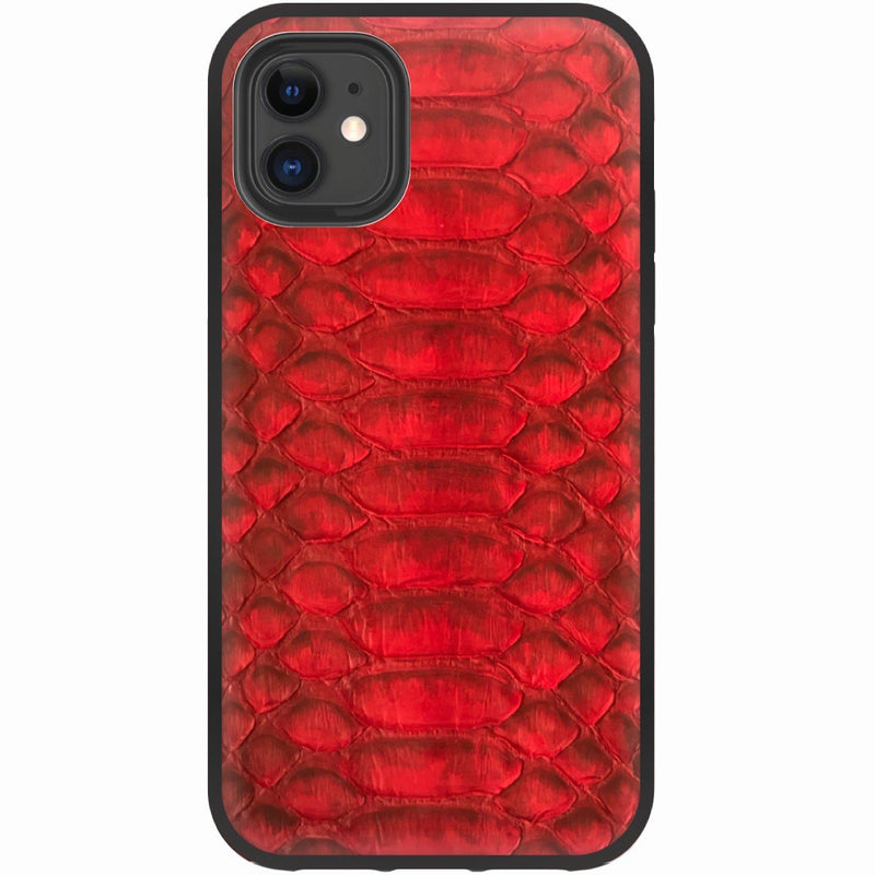Jump Red Python iPhone Cover