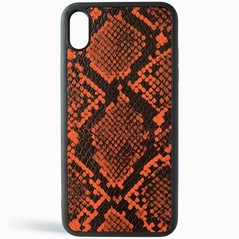 PlanB Orange Python iPhone Cover