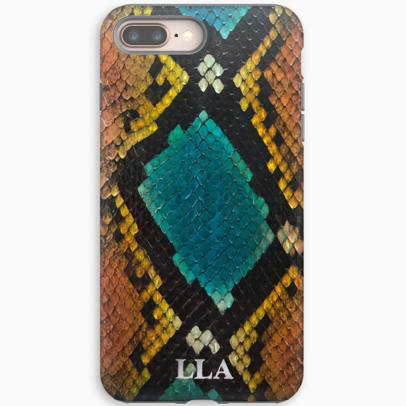Romeo Turquoise Python iPhone Cover