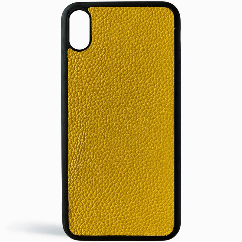 Quiet Yellow Grain iPhone Cover