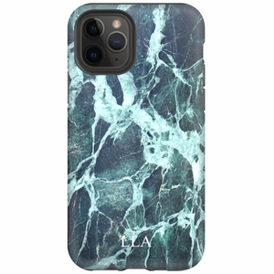 Green Marble TPU iPhone Case