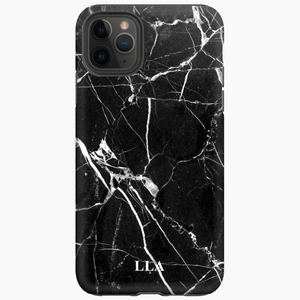 Black Marble TPU iPhone Case