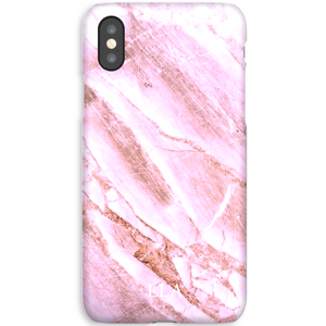 Purple Marble TPU iPhone Case