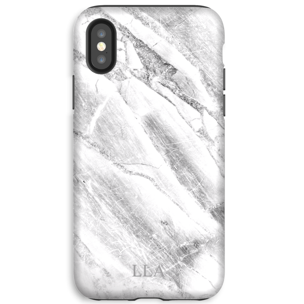 White Marble TPU iPhone Case