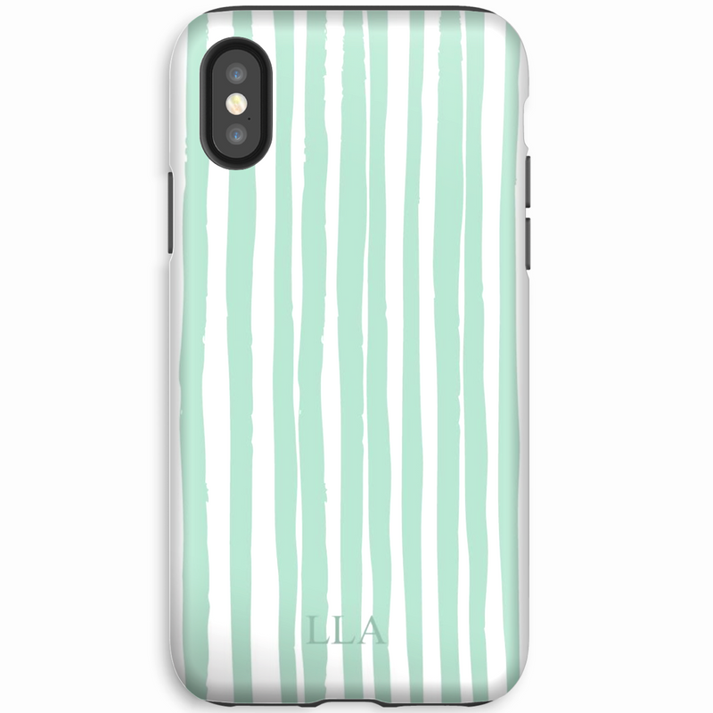 Cape Green Stripes iPhone Cover