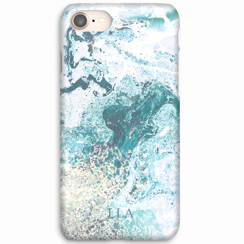 Turquoise Stone TPU iPhone Case