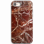 Flux Red Marble iPhone Cover