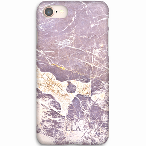 Light Purple Marble TPU iPhone Case
