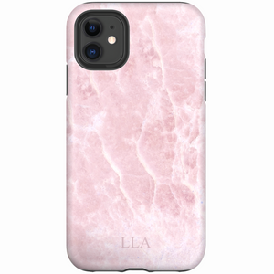 Light Pink Marble TPU iPhone Case