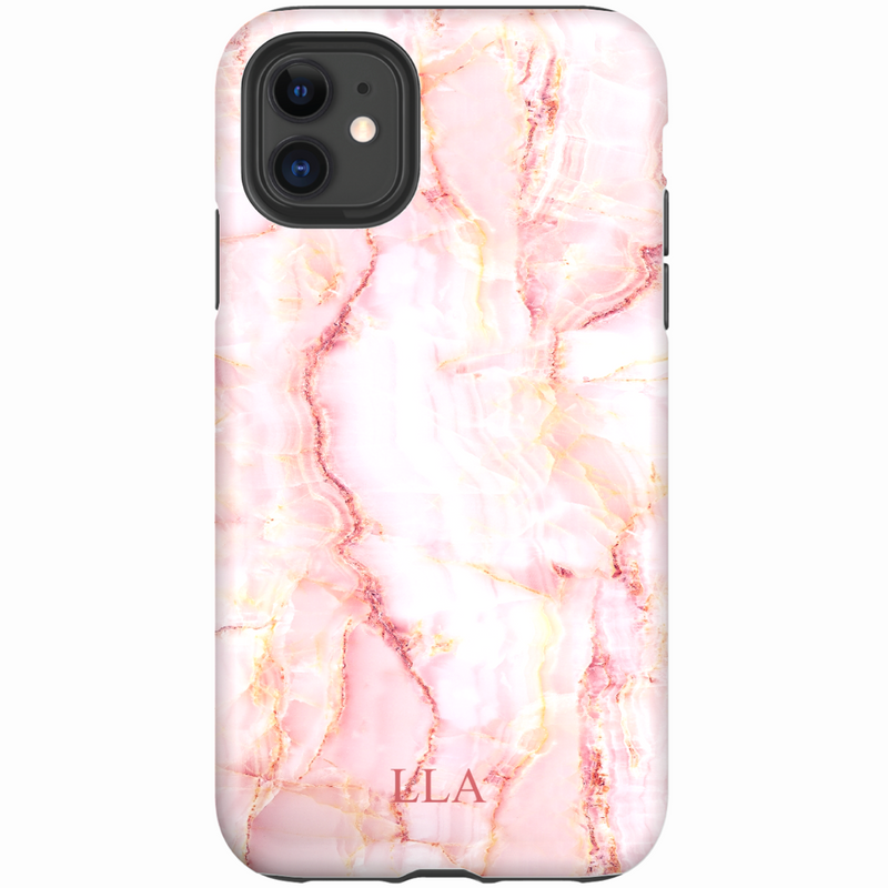 Casa Pink Marble iPhone Cover