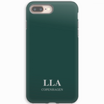 Grass Green Plain iPhone Cover