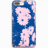 Pink Flowers TPU iPhone Case
